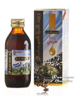 Масло черного тмина 125 мл. Black Seeds Oil Hemani