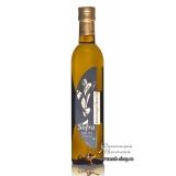 Масло оливковое Sofra, первого (холодного) отжима в стеклянной бутылке, 0,5 л