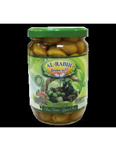 Оливки зеленые с косточкой Al-Rabih (Аль-Рабих), 600гр , Ливан