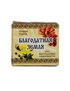 """Оливковое мыло с корицей """"Благодатная земля"""""""