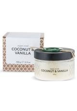 Аргановый скраб солевой кокос-ваниль, 350 гр Huilargan