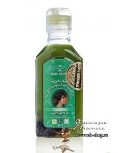 Натуральный шампунь с маслом листьев усьмы активизирующий рост волос BINT ZANOOBIYA «ДОЧЬ РАДУШИЯ»