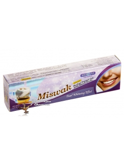 Отбеливающая зубная паста Hemani - Miswak with Black Seed  ( с мисваком и чёрным тмином)