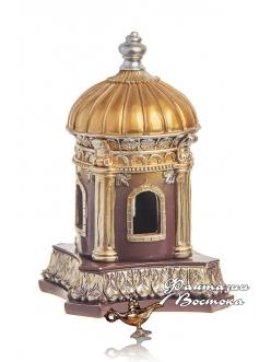 """Бахурница """"Мечеть"""" коричневая 18 см."""