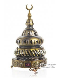 "Бахурница электрическая ""Башня "" бронза 22 см."