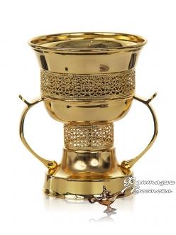 Бахурница Корона золотая 14 см.
