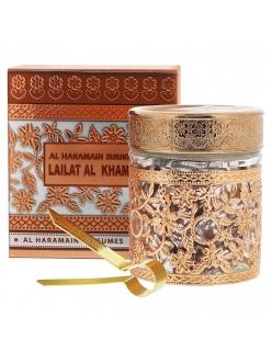 Пробник Бахур древесный Bukhoor Lailat Al Khamis Al Haramain 10 гр.
