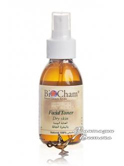 Тоник для сухой кожи лица с дамасской розой Bio Cham