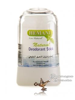 Натуральный квасцовый дезодорант Hemani Natural Deodorant Stick