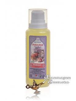"""Шампунь оливковый с амлой, полынью и алое вера для стимуляции роста волос и увлажнения HAMASA """"Величавый"""" East Nights"""