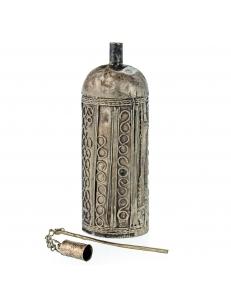 Кохлия старинная 11,5 см. серебряная ручная работа 19 век., Афганистан
