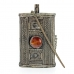Кохлия старинная 10 см. серебряная ручная работа 19 век., Афганистан
