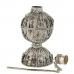 Кохлия старинная 8 см. серебряная ручная работа 19 век., Афганистан