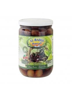 Оливки черные с косточкой Al-Rabih, Ливан ,  600 гр