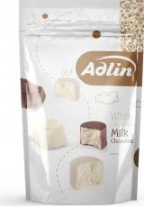 Конфеты из пашмалы ( пишмание ) ассорти с молочным вкусом в белой глазури и вкусом ванили в шоколадной глазури Chocopich Adlin 350 гр. Иран