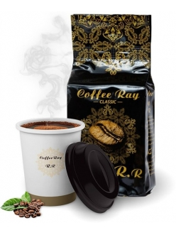 Кофе Coffee Ray ESPRESSO зерновой средней обжарки 500 гр. , Ливан