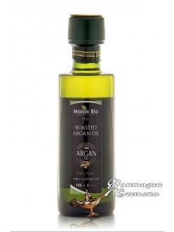 Аргановое масло пищевое из обжаренных зёрен 100 мл.  Malak Bio