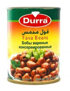 Фуль ( бобы вареные консервированные) Durra , Иордания