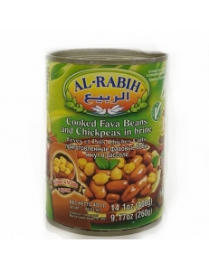 Фавовые бобы и нут в рассоле AL-RABIH , Ливан