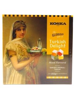 Рахат-лукум ассорти вкусов, Koska, 350 г., Турция