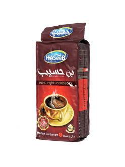 Арабский кофе с кардамоном Medium Cardamon Haseeb / Медиум Кардамон Хасиб, 200 гр. Сирия