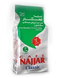 Арабский кофе Najjar / Наджар  с кардамоном 450 гр. Ливан