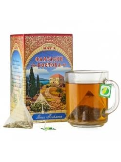 """Травяной чай """"Снег Библоса"""" фиточай в пирамидках коллекция Фантазии Востока"""