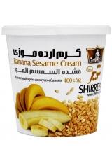 Кунжутный крем с бананом, Shirreza, 400 г