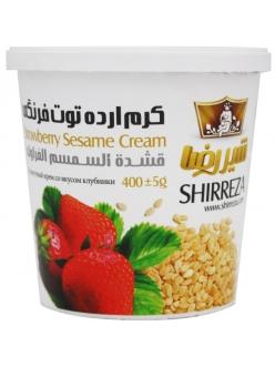 Кунжутный крем с клубникой, Shirreza, 400 г