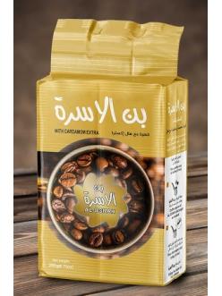 Кофе молотый с эктра кардамоном AL-OSRAH Турция , 200 гр.