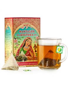 """Травяной чай """"""""Восточная принцесса"""""""" фиточай в пирамидках коллекция Фантазии Востока"""