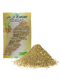 Заатар ( затар )  арабский с нутом Normal Mixed Thyme  Zatar 50 гр.