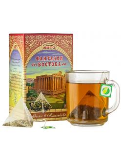 """Травяной чай """"Зима в Баальбеке"""" фиточай в пирамидках коллекция Фантазии Востока"""