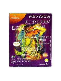 Хна бесцветная для волос, кожи лица и тела AL DUAAN «Аль Дуаан»   East Nights