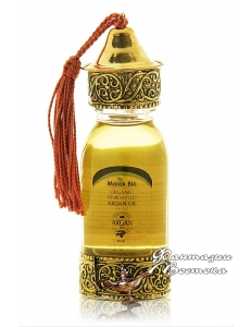 Аргановое масло 60 мл. Флакон ручной работы Malak Bio , Марокко