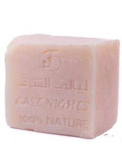 """Сирийское органическое мыло  с цельным верблюжьим молоком и шиповником финикийским JAWAHIRI """"Носящий драгоценность"""" East Nights"""
