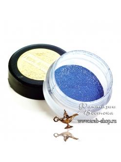 Минеральные тени- глубинно голубой цвет матовые «Выдача невесты» East Nights