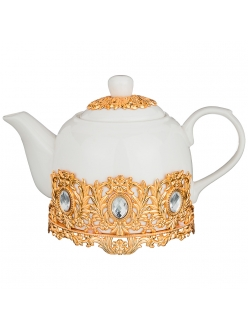 Чайник заварочный золотой в восточном стиле 700 мл.