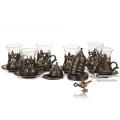 Восточная посуда для чая и кофе по-турецки