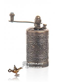 Мини - мельница для перца в восточном стиле , бронзовая