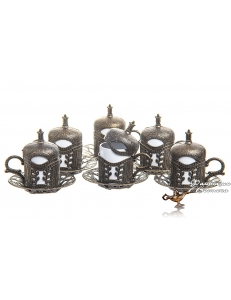 Кофейный сервиз в восточном стиле на 6 персон