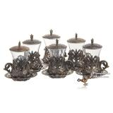 Армуды чайный сервиз в восточном стиле на 6 персон