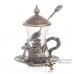 Армуды чайный сервиз в восточном стиле на 6 персон с ложками , медь , Турция