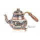 Медный чайник расписной ручной работы , 700 мл, Турция