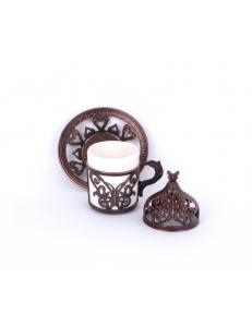 Кофейная пара под кофе по-турецки , бронза