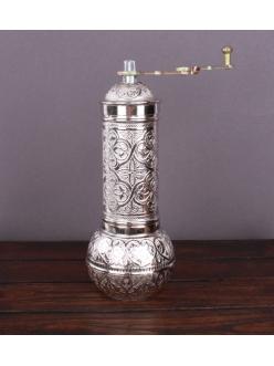 Ручная кофемолка «Бедуинская» , серебро