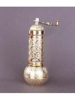 Ручная кофемолка «Бедуинская» , золото