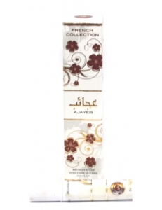 Масляные духи Ajayeb / Ажаеб Ard Al Zaafaran с кисточкой