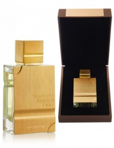 Арабские духи Amber Oud Gold edition Al Haramain 60 мл.