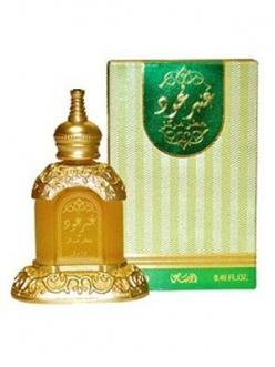 Пробник масляные духи Amber Oudh / Уд Янтарь Rasasi 1 мл.